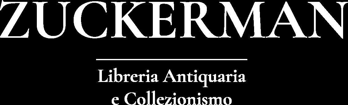 ZUCKERMAN – Liberia Antiquaria e Collezionismo